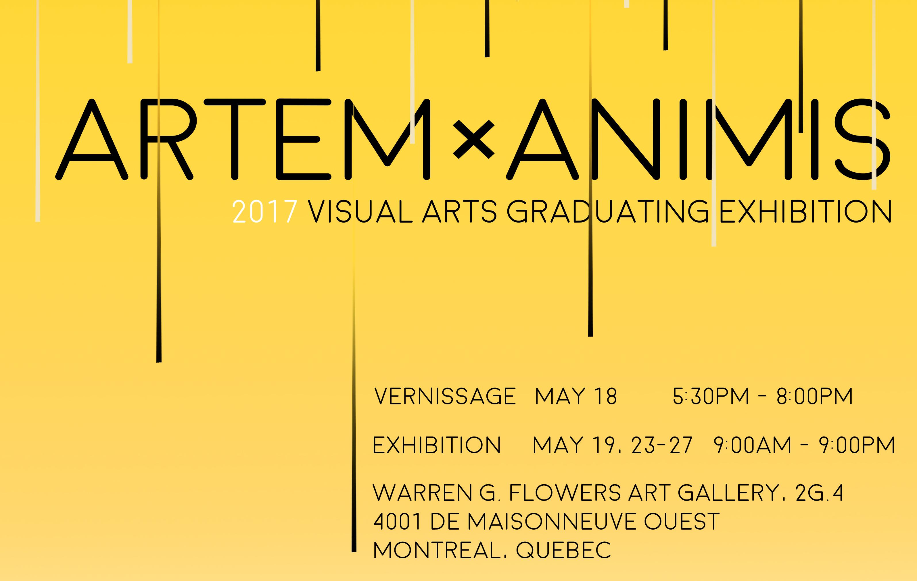 Visual Arts Graduation Exhibition